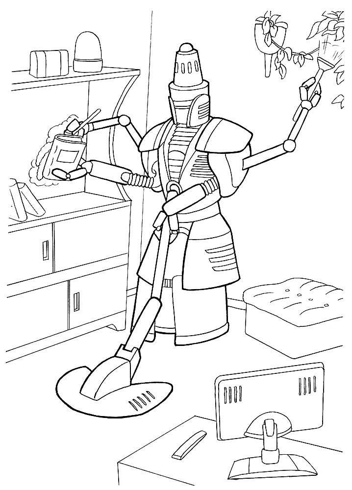 real steel robot coloring pages -