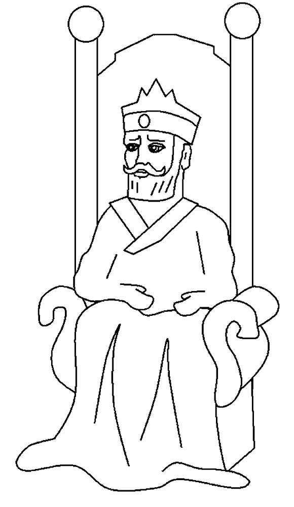 Shadrach meshach and abednego coloring page 8685432 - home-plus.info